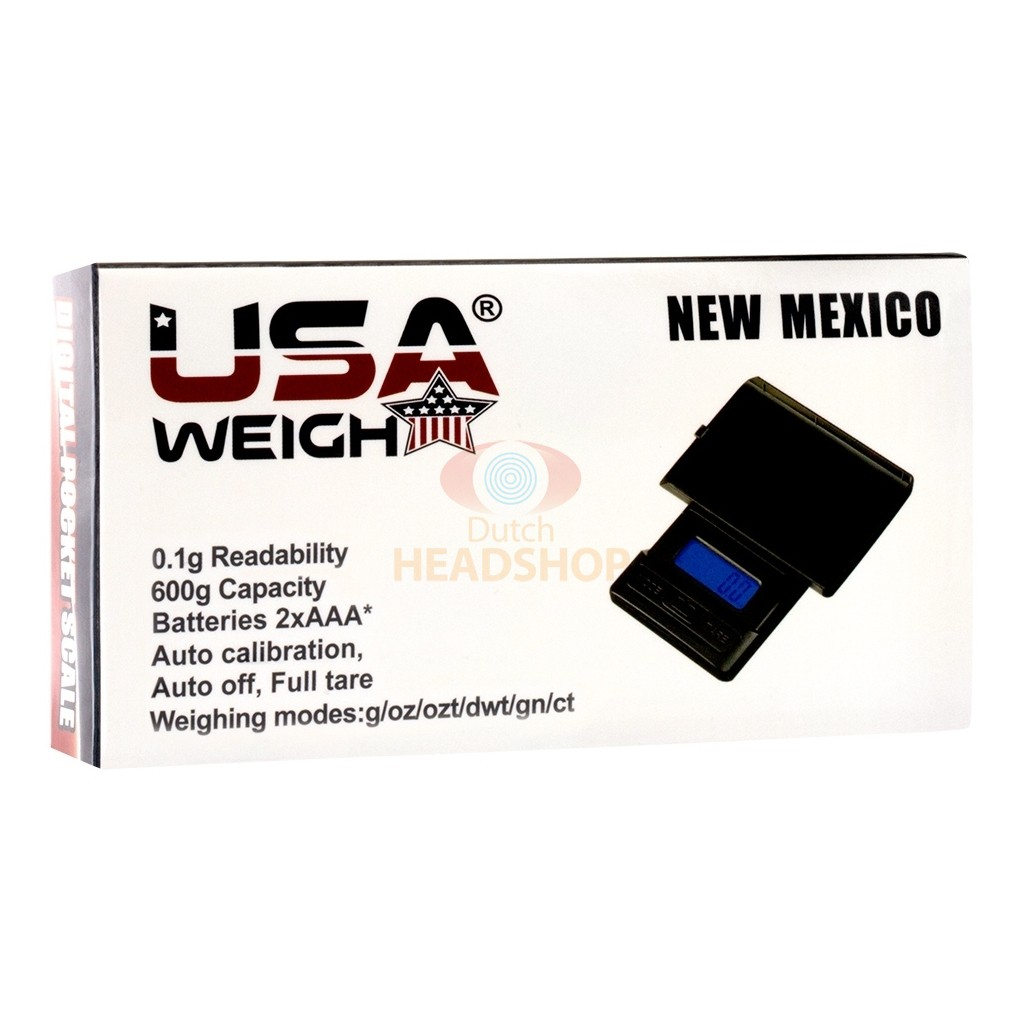 Precisie Weegschaal 600 New Mexico (USA Weigh) 0,1