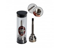 Carb Cap Dabber Mini Titanium T2 (Black Leaf)