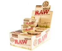 Raw Rolls Organic Hemp Rolvloei (Raw)