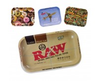 Rolling Trays Metaal (RAW) 17,5 x 27,5 cm