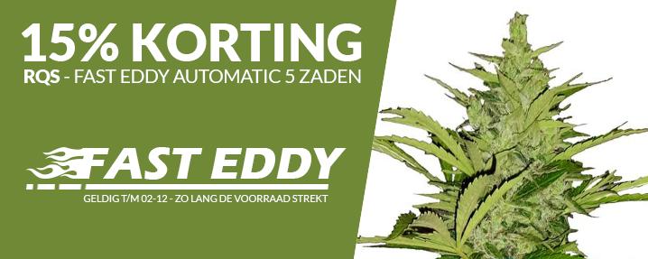 Aanbieding Fast Eddy automatic wietzaden - 5 autoflower wietzaadjes