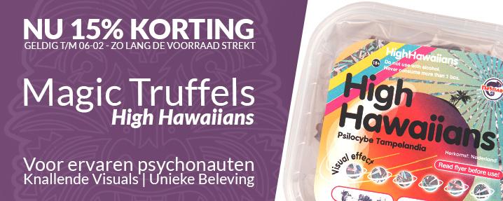 Aanbieding Magic Truffels High Hawaiians
